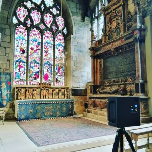 sheffield cathedral matterport camera